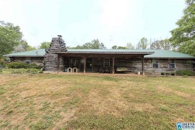Calhoun County, Chambers County, Clay County, Cleburne County, Coosa County, Randolph County, Talladega County, Tallapoosa County Farm For Sale: 75 Mary Lee Ln