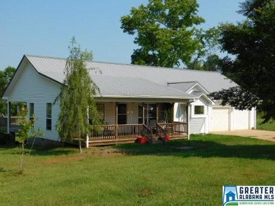 Wedowee Single Family Home For Sale: 877 Co Rd 873
