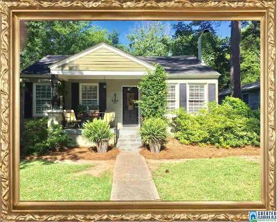 Homewood AL Single Family Home For Sale: $389,900