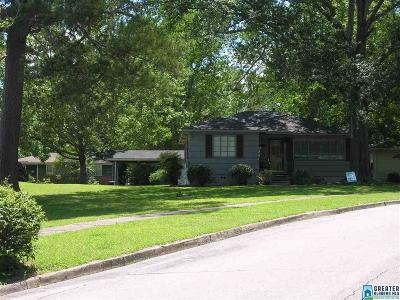 Homewood AL Single Family Home For Sale: $349,000