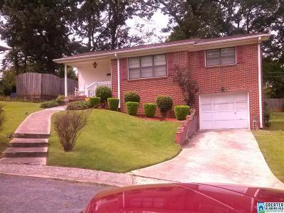 Tarrant AL Single Family Home For Sale: $89,900