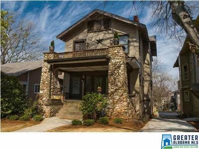 Birmingham AL Single Family Home For Sale: $309,900