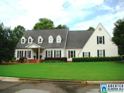 Anniston Single Family Home For Sale: 4723 Amberwood Ln