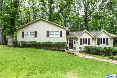 Mountain Brook Single Family Home For Sale: 3425 River Bend Rd