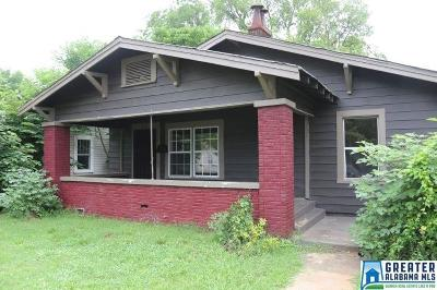 Birmingham, Homewood, Hoover, Irondale, Mountain Brook, Vestavia Hills Rental For Rent: 2512 W 15th St