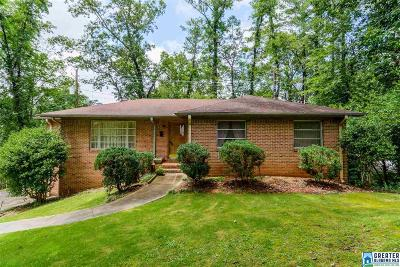 Homewood AL Single Family Home Contingent: $299,900