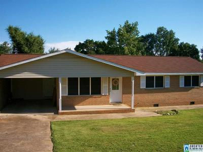 Weaver Single Family Home For Sale: 1422 Clairmont Dr