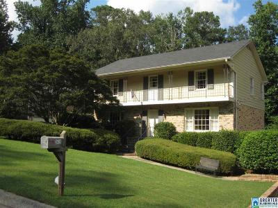 Vestavia Hills Single Family Home For Sale: 3418 Moss Brook Ln