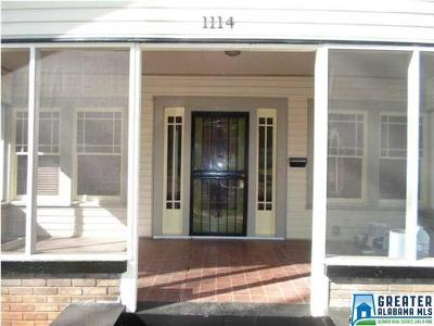 Birmingham AL Single Family Home For Sale: $199,900