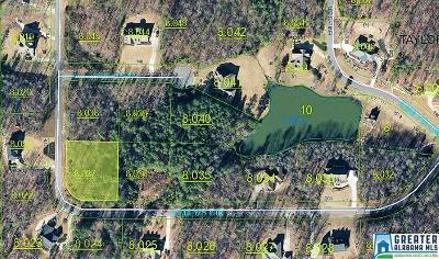 Jacksonville AL Residential Lots & Land For Sale: $11,500