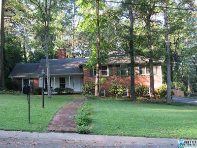 Mountain Brook Single Family Home For Sale: 3719 River Bend Ln