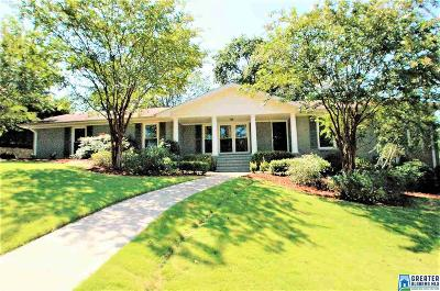 Birmingham Single Family Home For Sale: 4772 Overwood Cir