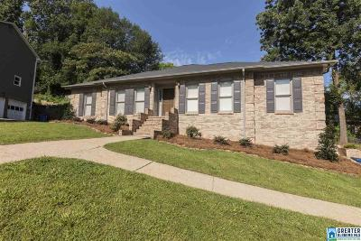 Homewood AL Single Family Home For Sale: $419,780