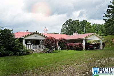 Clay County, Cleburne County, Randolph County Single Family Home For Sale: 2071 Co Rd 79