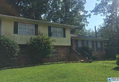 Birmingham AL Single Family Home For Sale: $94,000