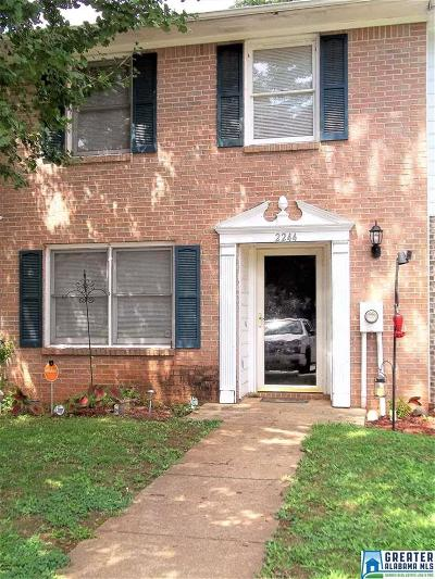Birmingham AL Condo/Townhouse For Sale: $71,900