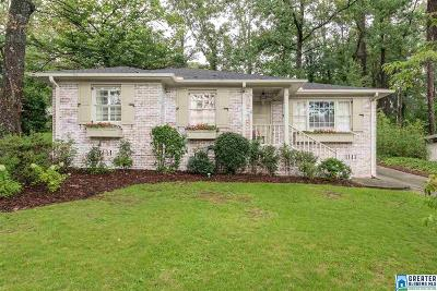 Homewood AL Single Family Home For Sale: $374,900