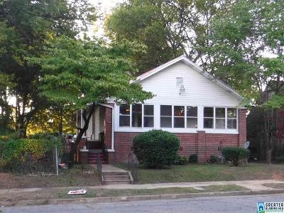 Birmingham Single Family Home For Sale: 3204 Ave D