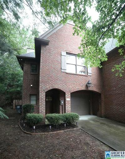 Birmingham, Homewood, Hoover, Mountain Brook, Vestavia Hills Condo/Townhouse For Sale: 3829 Kinross Pl