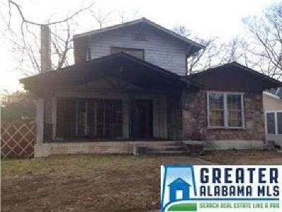 Birmingham Single Family Home For Sale: 1408 21st St N