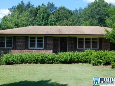 Clay County, Cleburne County, Randolph County Single Family Home For Sale: 51 Jessie Ann Ln