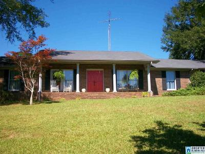 Clay County, Cleburne County, Randolph County Single Family Home For Sale: 1970 Perryman Bridge Rd