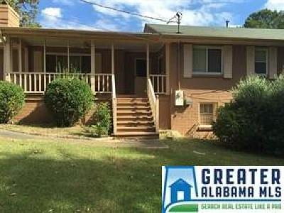 Adamsville AL Single Family Home For Sale: $98,999