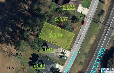 Anniston Residential Lots & Land For Sale: 87 Carnoustie Pl