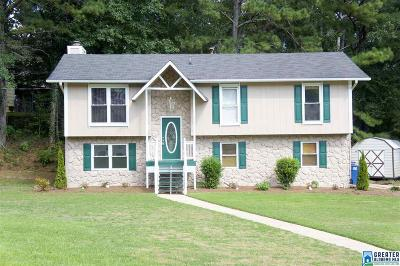 Trussville AL Single Family Home For Sale: $194,500