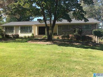 Hoover Single Family Home For Sale: 3236 Oriole Dr