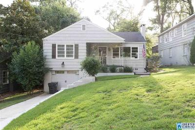 Mountain Brook AL Single Family Home For Sale: $379,900