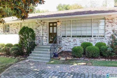 Vestavia Hills Single Family Home For Sale: 2416 Shades Crest Rd