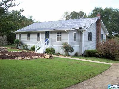 Clay County, Cleburne County, Randolph County Single Family Home For Sale: 1019 Co Rd 233