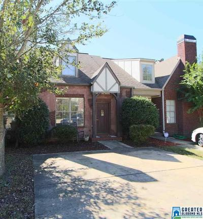 Birmingham, Homewood, Hoover, Mountain Brook, Vestavia Hills Condo/Townhouse For Sale: 2243 Ridgemont Dr