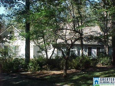 Vestavia Hills Single Family Home For Sale: 2613 Millwood Cir