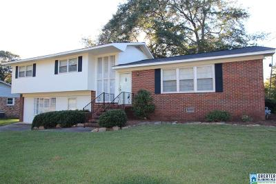 Anniston Single Family Home For Sale: 1200 Conger Rd