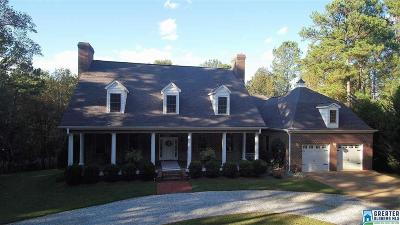 Clay County, Cleburne County, Randolph County Single Family Home For Sale: 2828 Crescent Crest Dr
