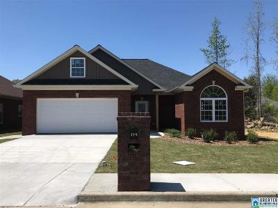 Oxford AL Single Family Home For Sale: $189,900
