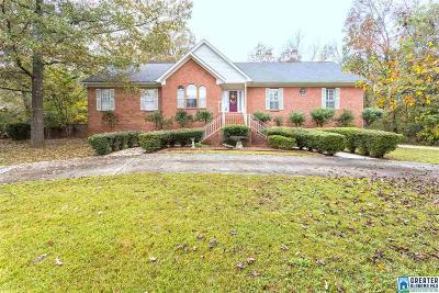 McCalla Single Family Home For Sale: 7549 Lu Pre Dr