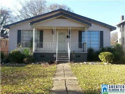 Birmingham, Homewood, Hoover, Irondale, Mountain Brook, Vestavia Hills Rental For Rent: 2304 Ave J