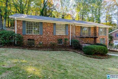 Homewood Single Family Home For Sale: 1573 Berry Rd