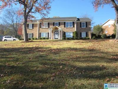 Vestavia Hills Single Family Home For Sale: 736 Rockbridge Rd