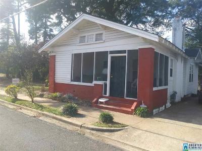 Birmingham AL Single Family Home For Sale: $35,900