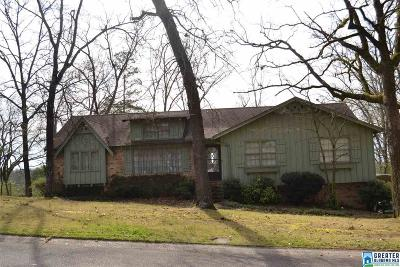 Birmingham AL Single Family Home For Sale: $109,900