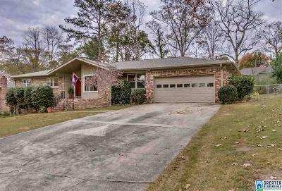 Hoover Single Family Home For Sale: 3313 Chartwell Rd