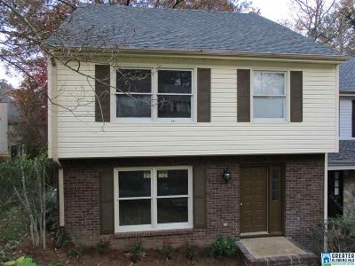 Vestavia Hills Condo/Townhouse For Sale: 3848 Overton Manor Trl