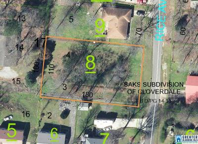 Anniston Residential Lots & Land For Sale: 4116 Rice Ave