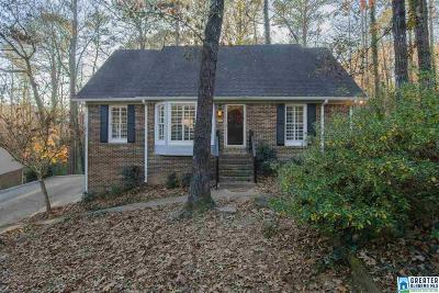 Hoover Single Family Home For Sale: 2129 Bailey Brook Ct