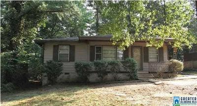Birmingham, Homewood, Hoover, Irondale, Mountain Brook, Vestavia Hills Rental For Rent: 816 Wear Dr