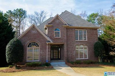 Hoover Single Family Home For Sale: 5609 Lake Cyrus Way